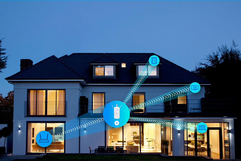 ↑Wi-Fiのカバー範囲を929平方メートルまでに強化