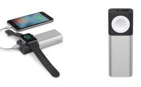 iPhoneとApple Watch、同時に充電できるモバイルバッテリー、約1万2000円なら安い?