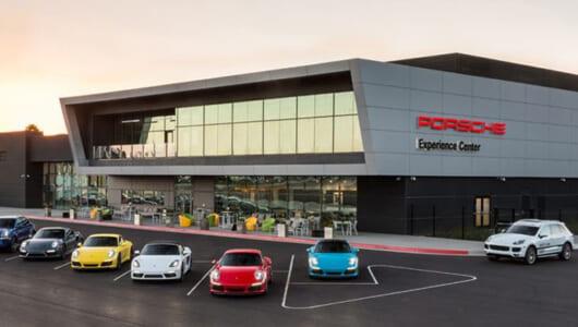 まるでテーマパーク!? ポルシェがLAに新エクスペリエンスセンターを開設