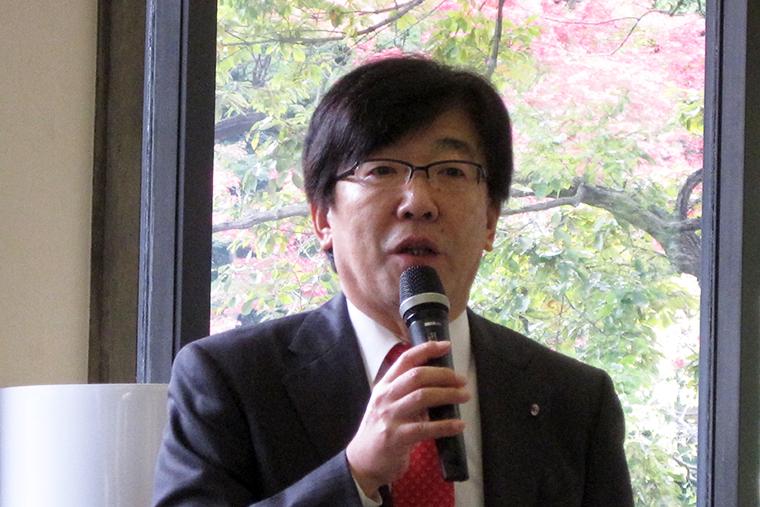 ↑スクール運営を手がける株式会社Calcio Sport代表取締役・平林孝昭氏