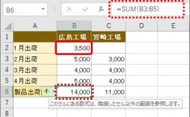 【Excel】行の挿入には要注意! 計算範囲が自動更新されずに結果がエラーになることも