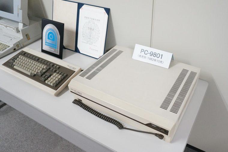 ↑さすが生誕の地ということで、PC-9801の展示もありました