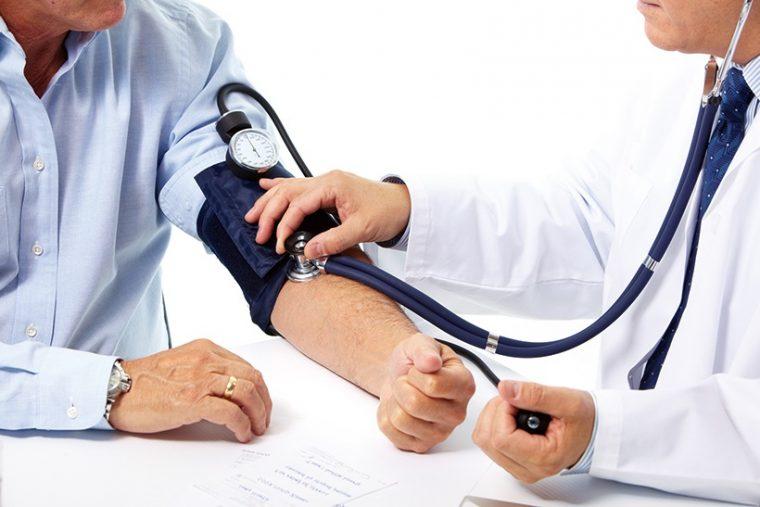 ↑一般的には上の血圧が100m/hg以下の場合を低血圧という。倦怠感や頭痛などの原因にもなる