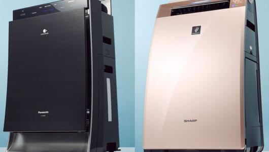 人気バラエティ「この差って何ですか?」でスタジオ驚愕! 最新空気清浄機5モデルの機能をおさらい