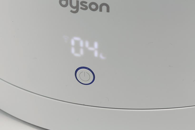 ↑ナイトモードでは静音運転に切り替え、LED表示を減光。寝室でも使いやすい