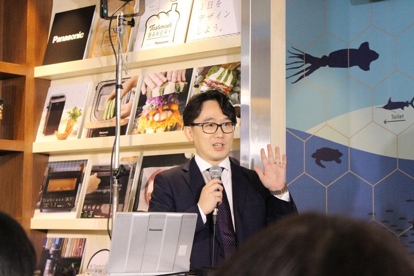 ↑Tastemade代表取締役社長の吉岡研一さん。SNSのフォロワーから「一緒にカフェをやりませんか」というメッセージをもらったこともあったとか