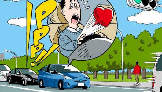 【ドライブあるある3選】クラクションを鳴らされると信じられないぐらい心臓の鼓動が速くなる