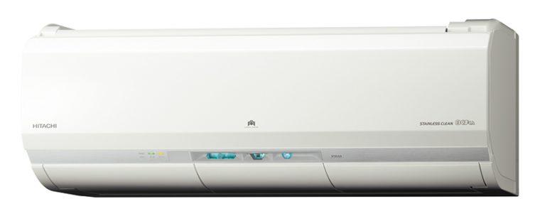 【SPEC】(RAS-X22G)●サイズ/質量:W798×H295×D374mm/約15.5kg(室内機)●畳数の目安:6~7畳● 暖房能力:2.5kW●消費電力:430W(暖房時)