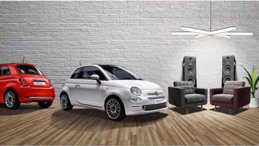 フィアット新型「500」にオーディオメーカー「Beats」とコラボした限定車が登場! 440Wの臨場感を聴け