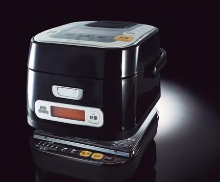 【SPEC】●サイズ/質量:W225×H212×D280mm/約4.2kg●炊飯容量:3合炊き●定格電力:800W(炊飯時)/1000W(IH調理器 ヒーター消費電力)●IH調理器 火力調節:5段階:約80W相当~約1000W(加熱調理)/5段階:約160~200℃(揚げ物調理)