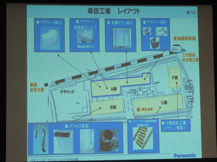 ↑幸田工場では、アラウーノ以外にも洗面ミラーや階段なども作っています