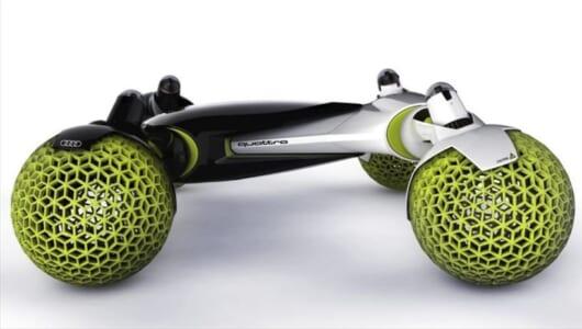 未来はコイツで月面ドライブ!? アウディがデザインした「有人宇宙探索車」がカッコよすぎ!