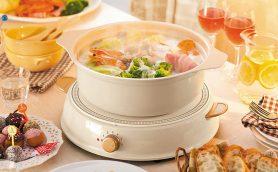 ホムパにぴったり! おしゃれな鍋をみんなで囲めるアイリスオーヤマ「パーティIHコンロ ricopa」