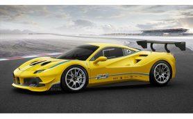 フェラーリが新型「488チャレンジ」を公開! ターボエンジンのレーシング仕様は史上初