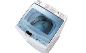 洗濯の過程を愛でる「至福の時間」がタテ型でも! ガラストップを採用したアクアの7㎏洗濯機