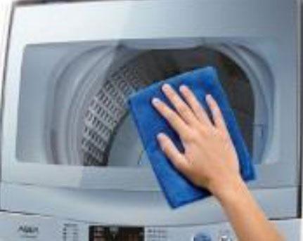 ↑軽く拭くだけでキレイになるため、お手入れが簡単