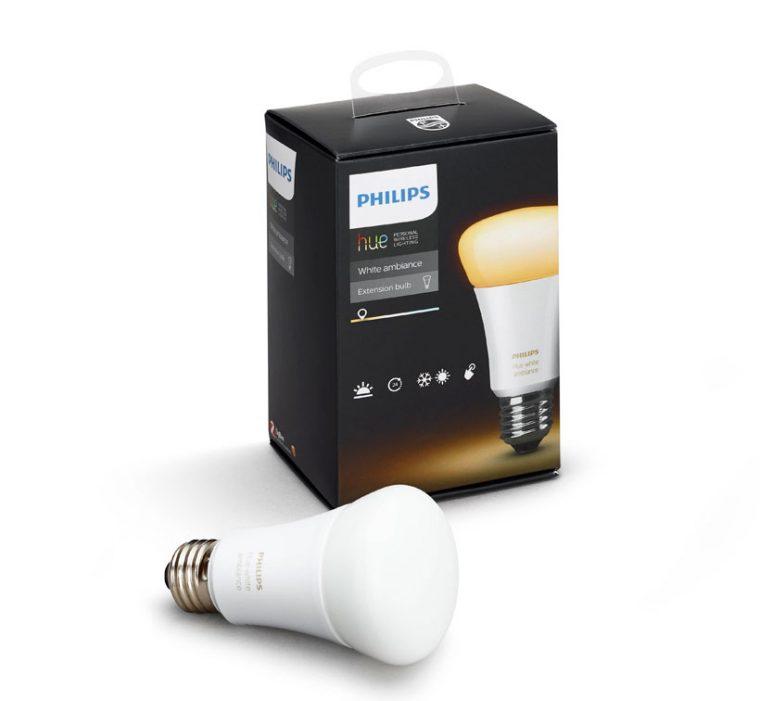 ↑シングルランプのランプ口金はE26、平均寿命は25000時間、明るさは800lm