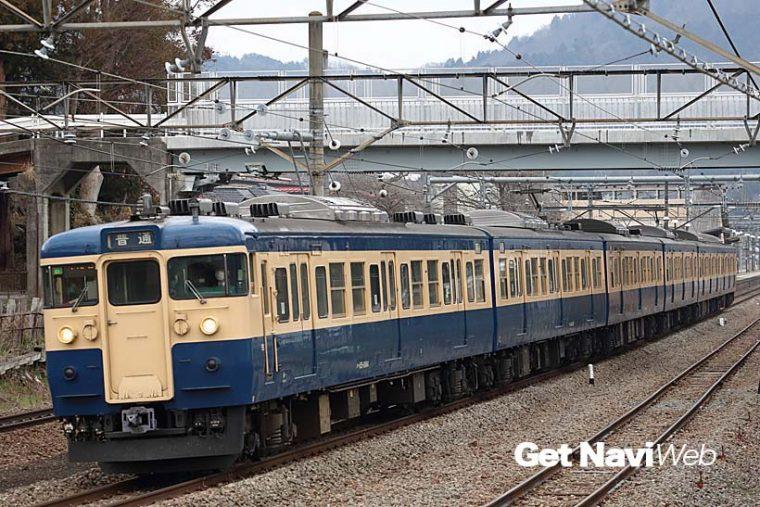 ↑長年にわたり中央本線を走り続けた横須賀色の115系。2015年11月をもって全編成が姿を消した