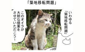 連載マンガ「田代島便り 出張版」 第24回「築地移転問題」