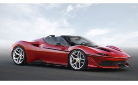 """フェラーリ新型「J50」の""""J""""は""""JAPAN""""! 日本上陸50周年を記念した超レアモデルが世界初披露!!"""