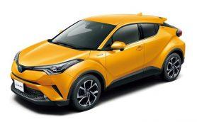 トヨタがコンパクトSUV、新型「C-HR」をリリース! モデルはハイブリッドとガソリンターボの2本立て