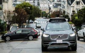 ボルボ「XC90」の自動運転タクシーが走る! 米UBERがサンフランシスコで運用を開始