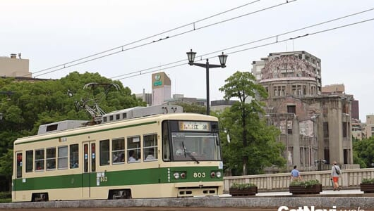 広島なのに京都市電、大阪市電!  被爆電車も走る「広島電鉄市内線」はまるで路面電車の博物館だ