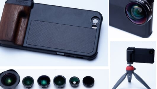 iPhone 6/6sを本格カメラに変える「SNAP! PRO」はプレゼントにもピッタリ!