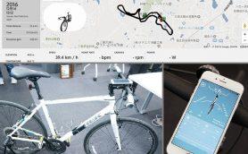 ロードバイク乗りなら付けておきたい! 自転車をIoTで武装するサイクルコンピューター「RIDE-1」