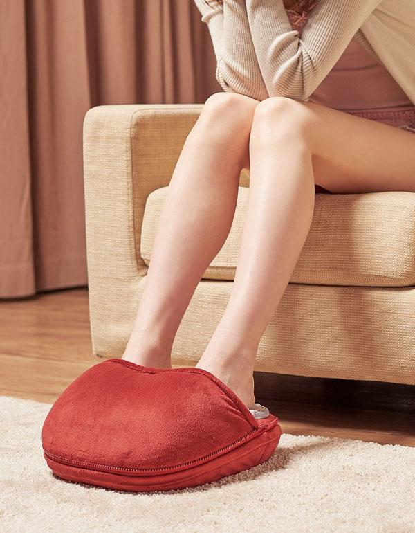 ↑足裏だけのマッサージもできます