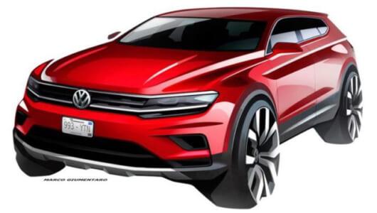 VW新型「ティグアン」にロング版が追加! 7シーターで来夏発売へ【デトロイトショー2017】