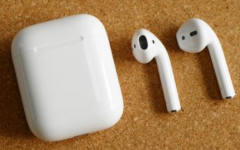 ↑Apple「AirPods」
