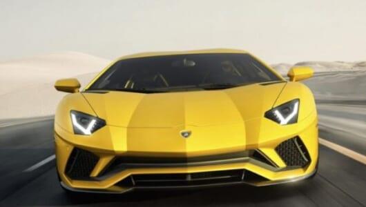 「エコ」ならぬ「エゴ」モード搭載! ランボルギーニが改良新型「アヴェンタドールS」を発表