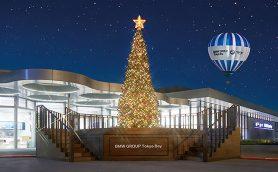 BMWが東京・台場でクリスマスイベントを開催! 6m超のツリーも登場
