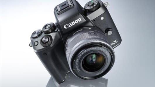 EOS M5は「ミラーレス」なだけでなく、「ストレスレス」なカメラだった! 快適に使える4つの理由とは?