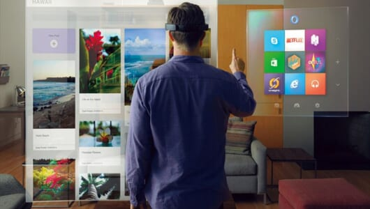VRの次は「MR」の時代に!  Microsoft HoloLensの登場で映画の世界が現実になる