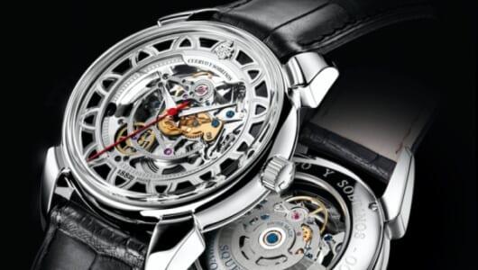 """機械式時計のダイナミズムを""""鑑賞""""――スケルトンウオッチ全盛期でわかった腕時計「引き算の美学」"""