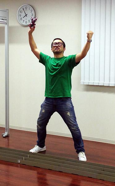 ↑TMFLハヤシ先生が圧倒的な差を付けて勝利!