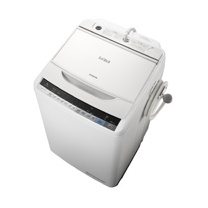 【SPEC】●サイズ/質量:W608×H1000×D610mm/40kg●洗濯・脱水容量:7kg●標準使用水量:90L