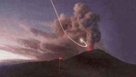 【ムーUFO情報】全長1㎞のUFOが墜落直後に大噴火! スカイフィッシュも目撃されるメキシコの「聖なる山」