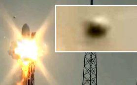 【ムーUFO情報】宇宙人がロケット開発を妨害した? 「ファルコン9」爆発の瞬間に写り込んだ謎の球体