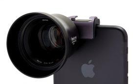 iPhoneが一眼レフ級の画質に! ZEISS純正レンズ付のカメラキット「ExoLens PRO」