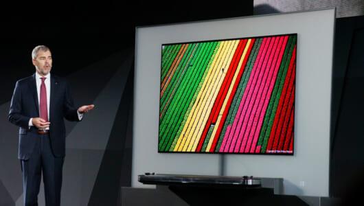 【CESまとめ】2017年は有機EL、4K/HDRテレビが熱い! CESに展示された話題のテレビを振り返る