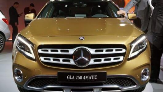 """""""らしさ""""を追求! メルセデス・ベンツが新型「GLA」を世界初披露【デトロイトショー2017】"""
