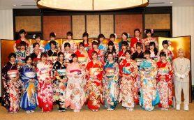松井珠理奈、兒玉遥ら32名が艶やかな着物姿を披露!AKB48グループ成人式にファン集結