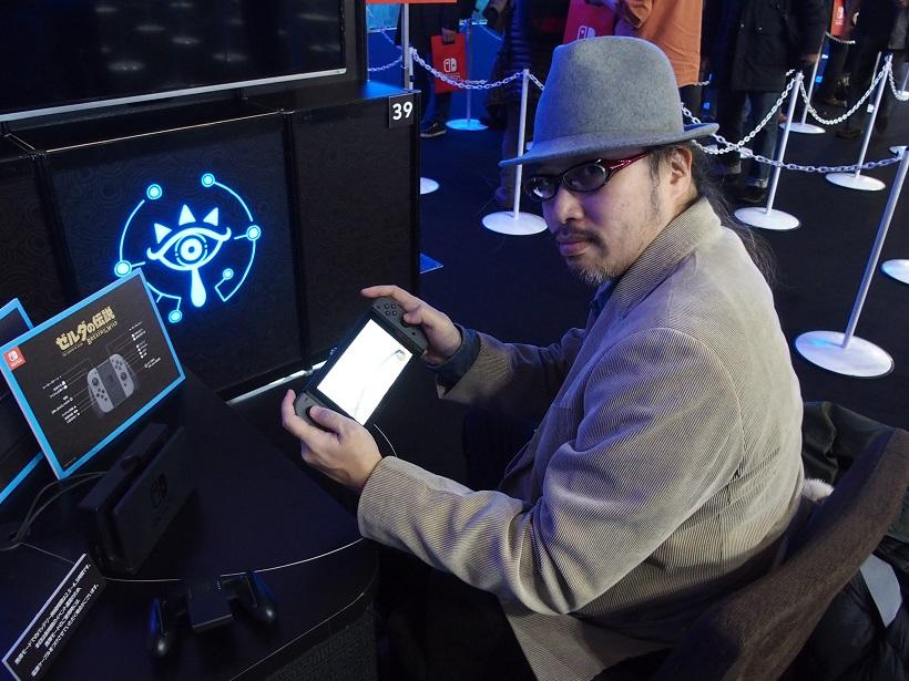 ↑テレビで遊んでいた続きを携帯ゲーム機で遊ぶことができます。動きもグラフィックもテレビと比べて遜色なしです