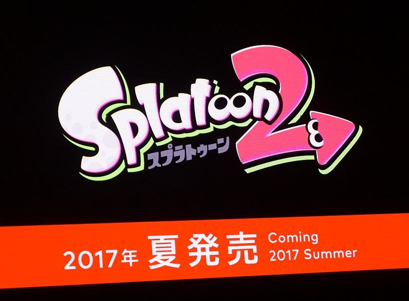 ↑「スプラトゥーン2」は夏発売