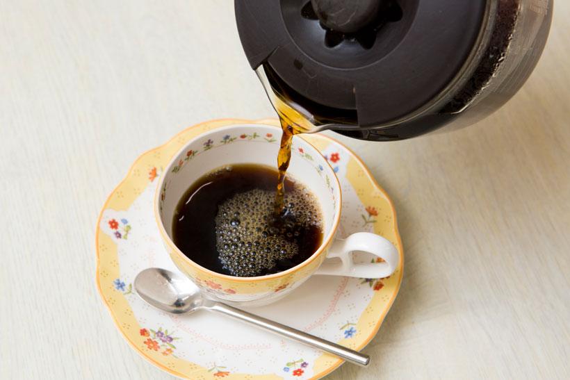 ↑焙煎とドリップは別設定になっているので、焙煎中にコーヒーをドリップすることも可能です。焙煎したての豆は非常に香ばしく鮮烈な味。また、1日~2日寝かせることで、マイルドな味に変化するそう。この変化を楽しめるのも自家焙煎ならではです