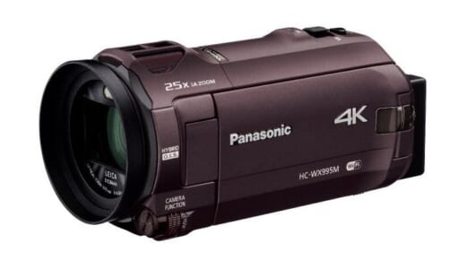 4Kは高画質だけじゃない! 「あとから補正」で失敗知らずのビデオカメラ「HC-WX995M」