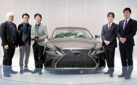 """レクサス新型「LS」が著名なデザインアワードを受賞! """"日本の伝統美""""が高評価を獲得"""